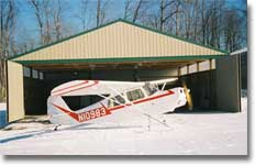 Custom Designed Airplane Hangar Building