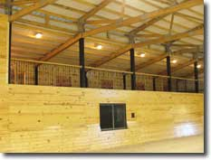 Equestrian Building Viewing Area