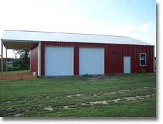 Residential Carport Building - Garage Shed