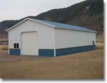 Metal Shop Building