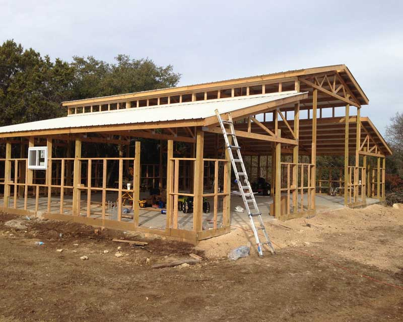 pole barn construction hansen buildings