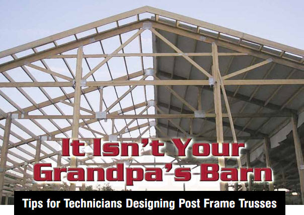 It isn 39 t your grandpa 39 s barn for Post frame building plans