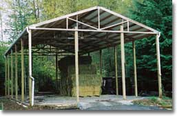 Roof Only - Covered Storage