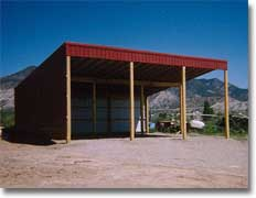 Storage shed designs ideas how to build a flat roof pole for How to build a sloped roof shed