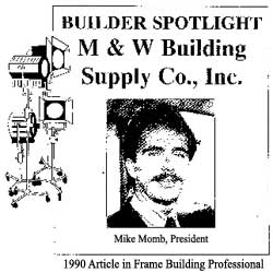 Mike The Pole Barn Guru Featured in Frame Building Professional Magazine