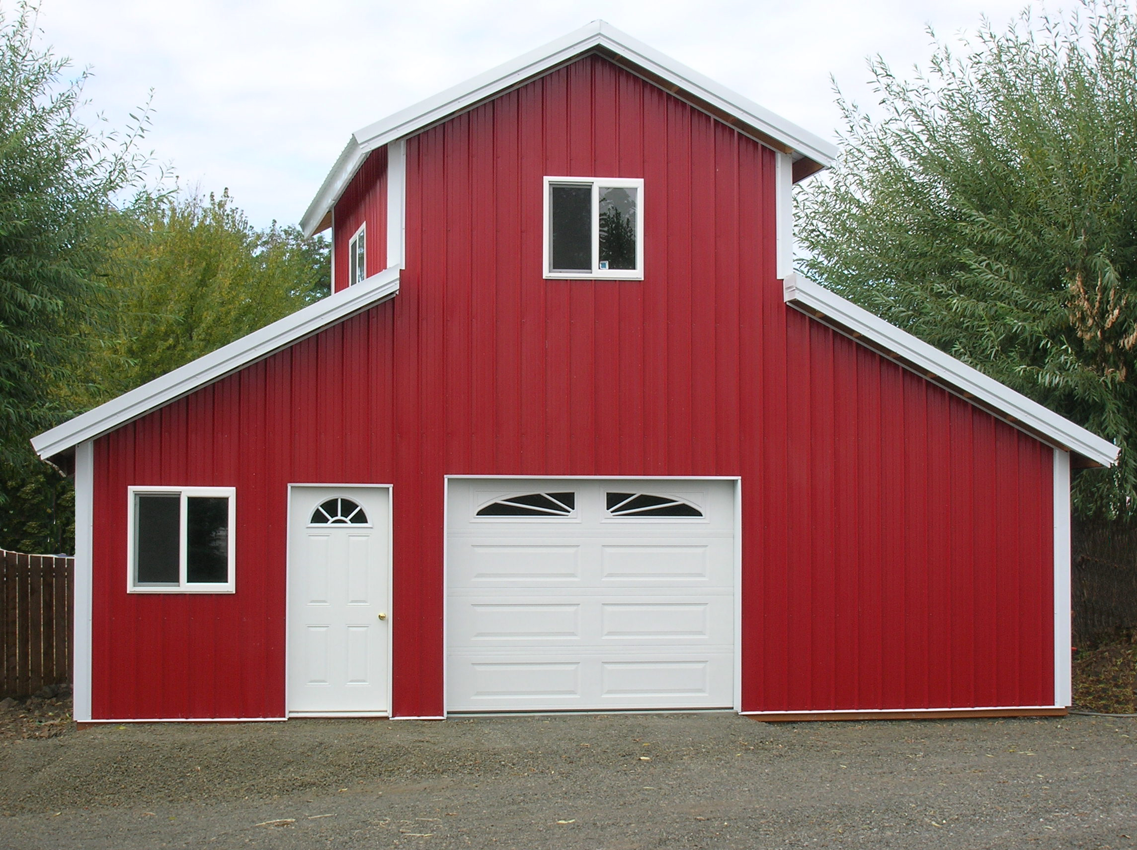 Pole buildings archives hansen buildings for Pole barn style garage