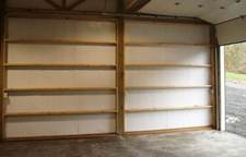 Book Shelving? Ceiling Insulation