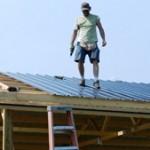 StealthBond© Glued on Roof Steel