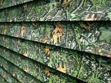 Camouflage Siding Options