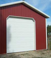 Overhead doors archives hansen buildings for 14 foot tall garage door