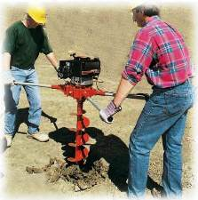Post Hole Auger: The Two Man Killer