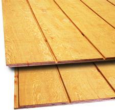 Wood siding maintenance archives hansen buildings - Exterior grade plywood home depot ...