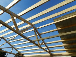 Pole Barn Ceiling Load Trusses