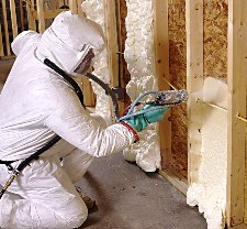 Spray Foam and a Post Frame Cabin
