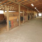 Attaching Horse Stall Posts to Trusses