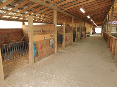 Inside Horse Barn preventing horse barn fires part i