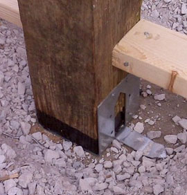 Non Engineered Post Bracket