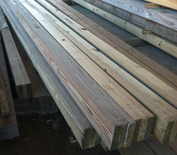 Glulam Column Sizes