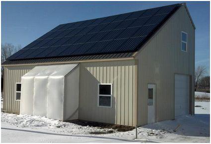 Single slope pole barn plans joy studio design gallery for Pole barn roof pitch