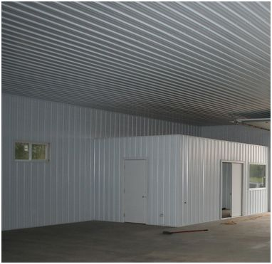 Steel liner panels for Garage roofing options