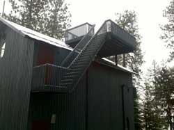 Pole Building Decks and Snow