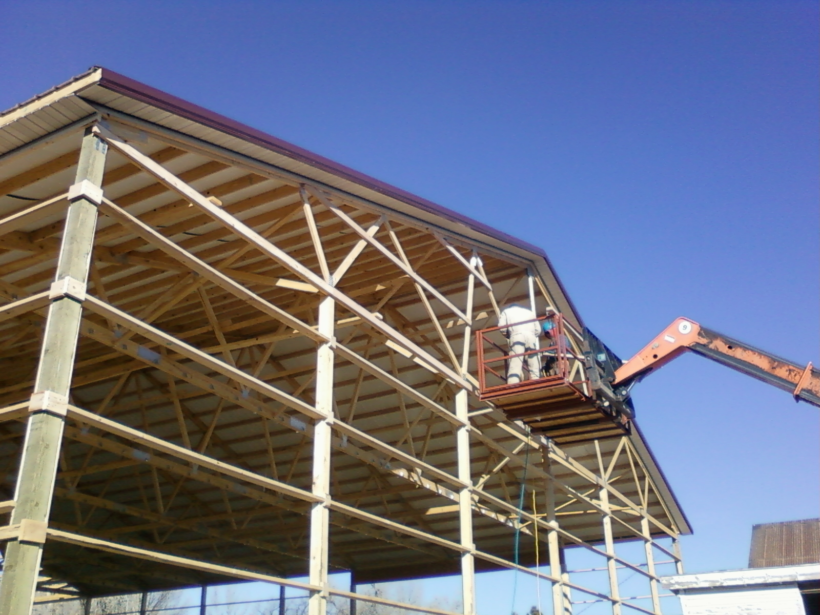 Wide Span Trusses