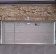 WalkThru Garage Door
