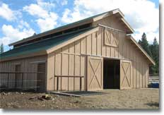 Horse Barns Shelter Kits