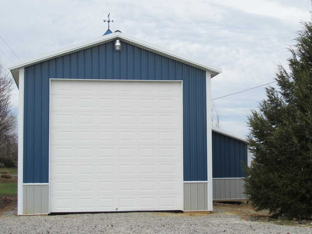 Project 11 0909 hansen buildings for Pole barn for rv storage