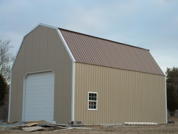 Gambrel building designs archives hansen buildings for Pole barn roof pitch