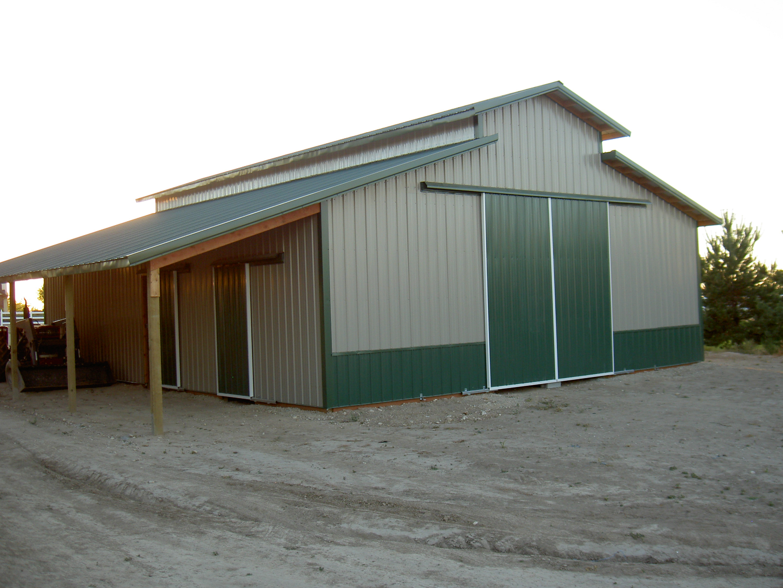 Project 04 1223 hansen buildings for Pole building