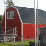 Gambrel Concessions Building
