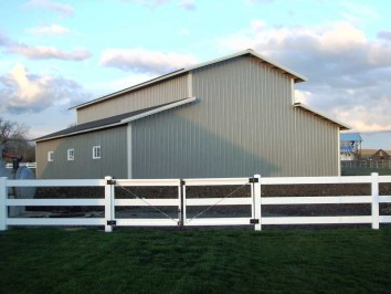 Monitor building designs archives hansen buildings for Pole barn roof pitch