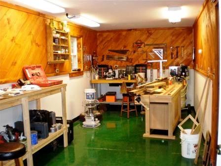 workshop interior - hansen buildings