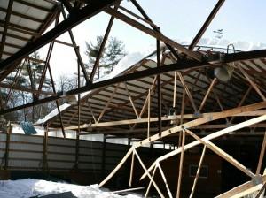 When Pole Barns Fall Down