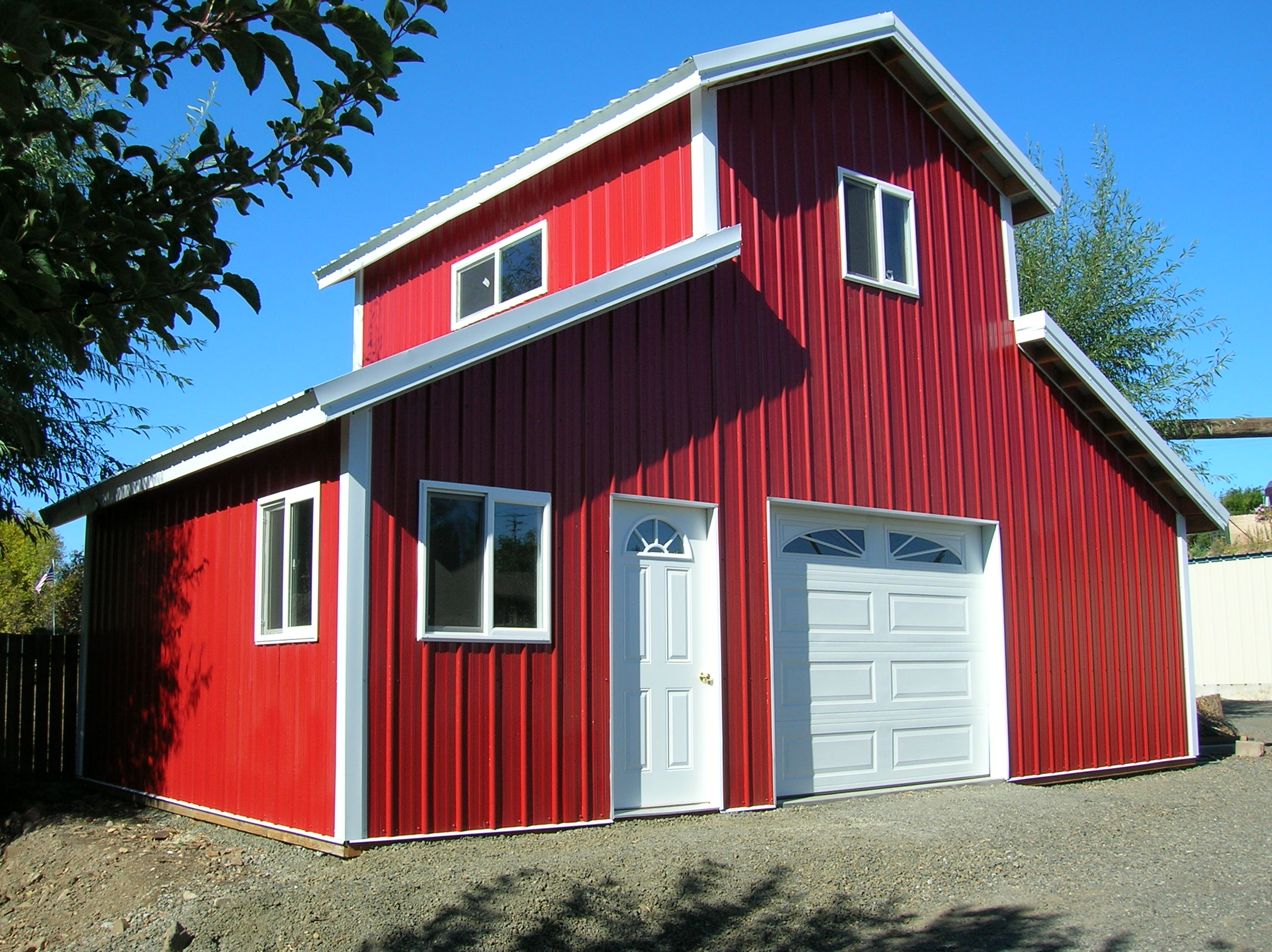 Pole barn homes archives hansen buildings for Metal barn home kits