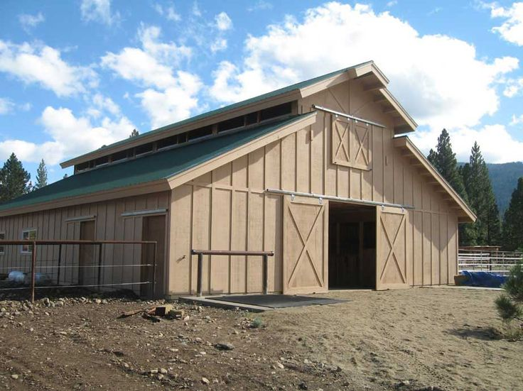 How to save on the cost of building a pole barn for Horse barn materials