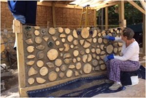 Cordwood Masonry Appears to be a Contradiction in Terms