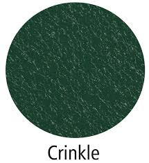 Crinkle Finish Steel Roofing and Siding