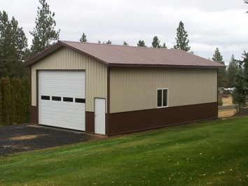 custom pole barn garages kits hansen pole buildings