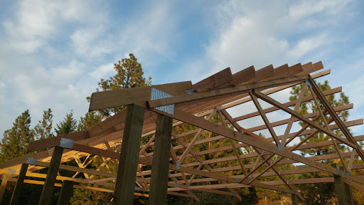 Dropped Chord End Truss Framing