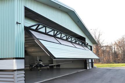 Free Standing Hangar Door
