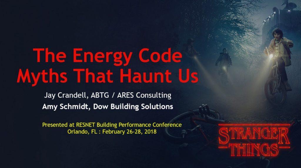 Energy Code Myths