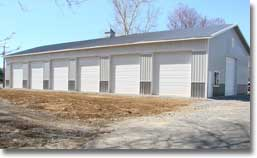 Equipment Storage Building