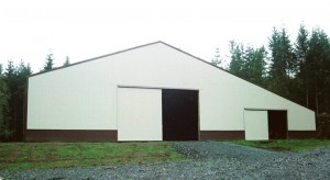 Large Clearspan Riding Arena Building