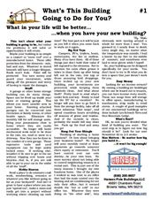 Why Sign Up for Pole Building Newsletters?