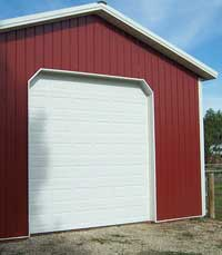 Dog Ear Overhead Door