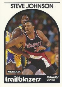 Steve Johnson Basketball Card