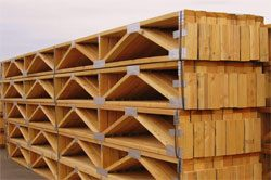 Wood Floor Trusses Hansen Buildings