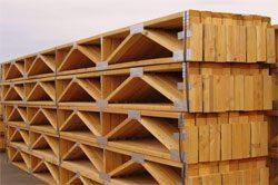 Wood Floor Trusses